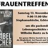 """Stephanuskirche: Frauentreffen - Vortrag """"Wilhelm Buntz - Der Bibel Raucher"""""""