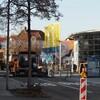 Neue Bushaltestelle am Neuer Markt - Bauarbeiten abgeschlossen