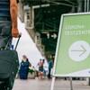 Testzentrum für Reiserückkehrer am Flughafen Stuttgart