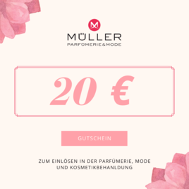 Geschenkgutschein - Wert 80 Euro für Mode, Parfümerie, Kosmetikbehandlung