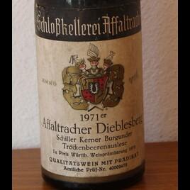 71er Affaltracher Schiller Trockenbeerenauslese