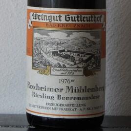 76 Roxheimer Riesling Beerenauslese Schatzkammer!