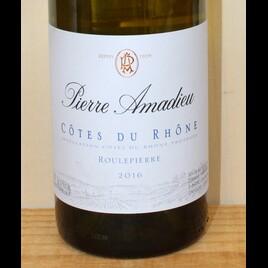 Pierre Amadieu Côtes du Rhône Blanc AC Roulepierre