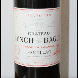1989 Chateau Lynch Bages Grand Cru Classé Pauillac