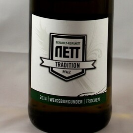 NETT TRADITION Weissburgunder trocken - Pfalz