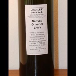 CHARLES' Olivenöl Extra Nativ