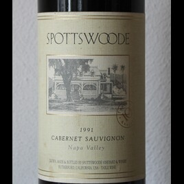 1991 Cabernet Sauvignon Spottswoode Napa Valley
