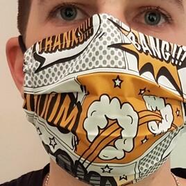 Nähkit: DIY Bio Behelfsmasken Zuschnitt