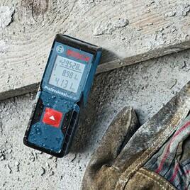 Bosch Laser-Entfernungsmesser GLM 30 Baustelle 2