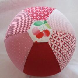 Indoor-Ball | Luftballonbezug Kirsche (ca. 22 cm)