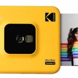 110338 Kodak Mini Shot Combo 3 yellow Sofortbildkamera