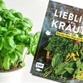 Geschenktipp: Kräutertopf mit Kräuterbuch über Anbau, Pflege und Verwendung