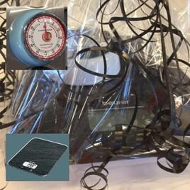 Geschenkset: Beurer digitale Küchenwaage mit Küchenwecker