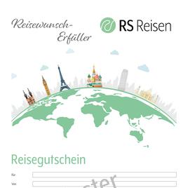 Reisegutschein von RS Reisen