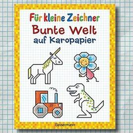 """Norbert Pautner: """"Für kleine Zeichner - Bunte Welt auf Karopapier"""""""
