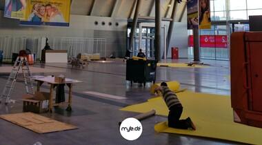 Der gelbe Teppich rollt