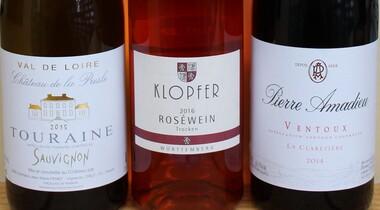 Weinprobe: Württemberg, Frankreich, Südafrika