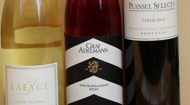 Weinprobe Frankreich, Württemberg und Portugal
