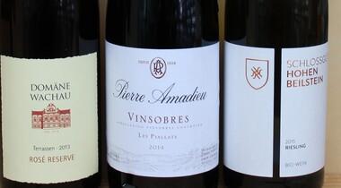 Weinprobe Württemberg - Frankreich und Österreich