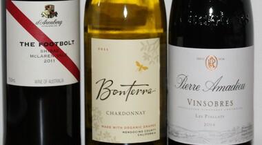 Weinprobe Frankreich, Australien u.Kalifornien
