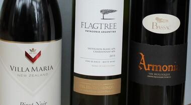Leckeren Tröpfchen aus Neuseeland Rotwein Weisswein
