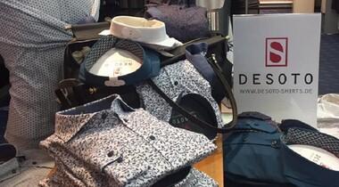 Herbst/Winterkollektion eingetroffen: DESOTO Hemden