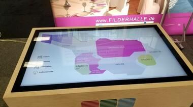 Interaktiven Rundgang durch das Raumangebot der Filderhalle auf der Locations! in Sindelfingen