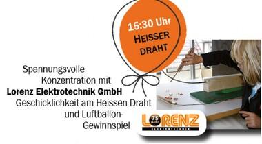 Heisser Draht + Luftballon-Gewinnspiel