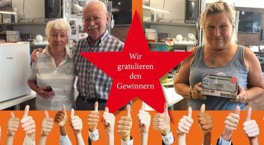 Spannungsvolle Preise für glückliche Gewinner des Lorenz Elektotechnik WM-Gewinnspiel 2018