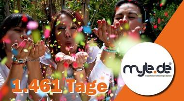 4 Jahren gemeinsam auf myLE - fast eine halbe Millionen Besucher