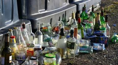 Altglascontainer in Stetten entfernt