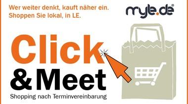 In LE ist Click&Meet wieder erlaubt - Voraussetzungen bitte beachten