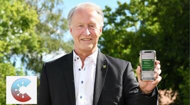 Oberbürgermeister Klenk empfiehlt die Corona-Warn-App