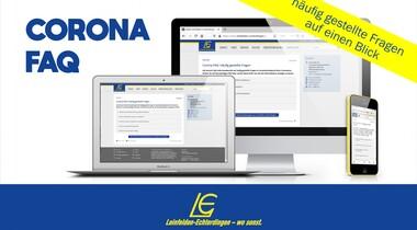 Corona: Stadt LE bietet spezielle FAQ-Seite mit Fragen und Antworten