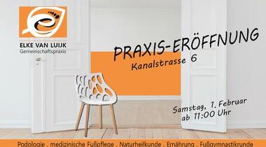 Praxis-Eröffnung: Fusspflege + Naturheilpraxis in Echterdingen