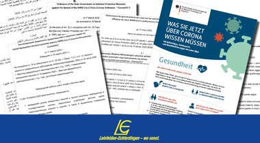 Bundesregierung aktualisiert mehrsprachige Informationen zum Coronavirus / Flyer zum Download
