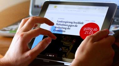 Leitlinien zur Beschränkung sozialer Kontakte von Bund + Land