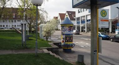 Neugestaltung der Marktstraße in Leinfelden in 2018