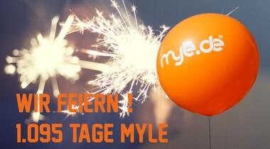 Wir feiern: myle informiert seit nunmehr 3 Jahren online rund um LE