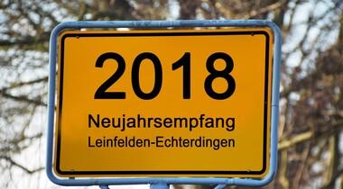 Neujahrsempfang in LE