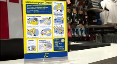 Gemeinsam gegen Corona - Plakat zum Download (aktualisiert)