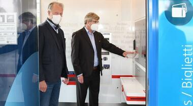 Video-Reisezentrum am S-Bahnhof Echterdingen eröffnet
