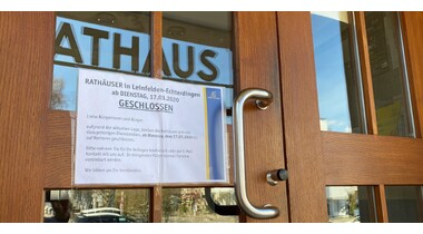 Corona: Stadt Leinfelden-Echterdingen akutalisiert Allgemeinverfügung