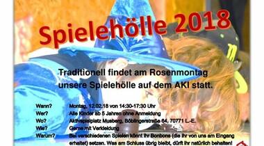 Spielhölle 2018 auf dem AKI in Musberg