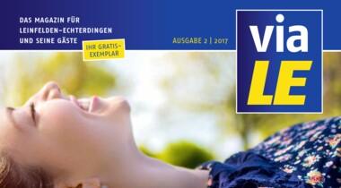 viaLE - das Magazin für LE und seine Gäste
