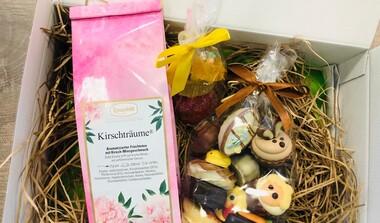 Überraschungspäckchen zu Ostern ab 20 € Bestellwert frei Haus Lieferung in LE