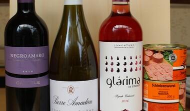 Weinprobe Frankreich, Spanien und Italien