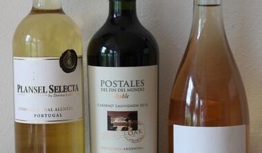 Weinaktion Argentinien, Portugal und Frankreich