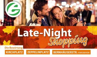 Late Night Shopping in Echterdingen