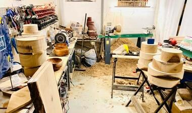 Handgemachte Holzware aus verschiedenen Hölzern - und das bei uns in LE